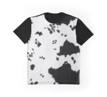 Cowhide Black and white 2 Graphic T-Shirt