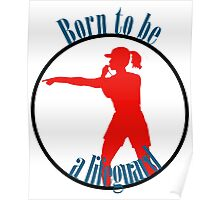 Born to be a lifeguard Poster