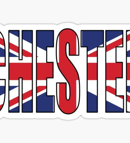 Chester. Sticker