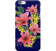 Summer Coming- Grow Pink Flowers iPhone Case/Skin