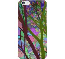 Stained Glass Nature Two iPhone Case/Skin