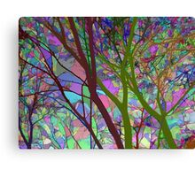 Stained Glass Nature Two Canvas Print