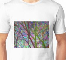 Stained Glass Nature Two Unisex T-Shirt