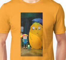 totoro on the rain Unisex T-Shirt