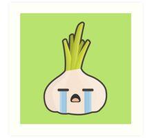 Kawaii Onion Art Print