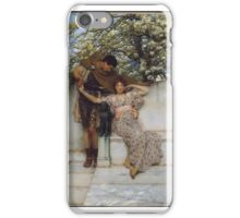 Promise of Spring, Sir Lawrence Alma-Tadema (Dutch (active in England),  iPhone Case/Skin