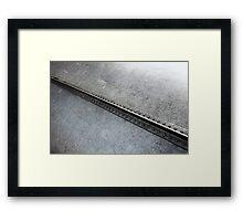 Keel Line Framed Print