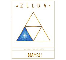 Triforce Designs - Nayru's Wisdom Edition Photographic Print