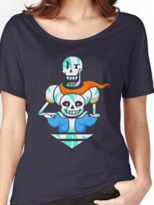 Sans and Papyrus Arrow Women's Relaxed Fit T-Shirt