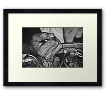 """He Sold Coins and This Ring""   Framed Print"