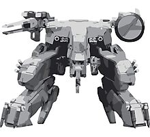 Metal Gear Solid REX Photographic Print