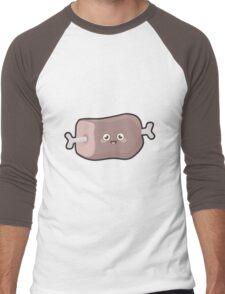 Kawaii Meat Men's Baseball ¾ T-Shirt