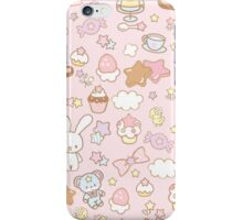 Cup of coffee plus bunny iPhone Case/Skin