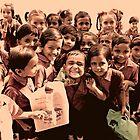 Happy Friendly Little Faces by Valerie Rosen
