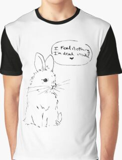 Nihilist Bunnies - Dead Inside Graphic T-Shirt