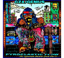 Genius GZA Pyroclastic Flow Photographic Print