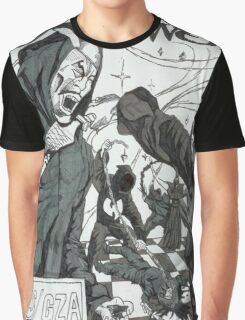 Liquid Swords Album Art Sketch Graphic T-Shirt