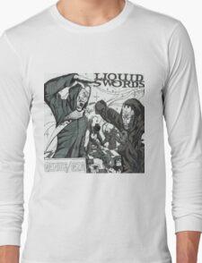 Liquid Swords Album Art Sketch Long Sleeve T-Shirt