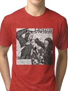 Liquid Swords Album Art Sketch Tri-blend T-Shirt