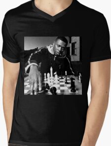 GZA Genius Mens V-Neck T-Shirt