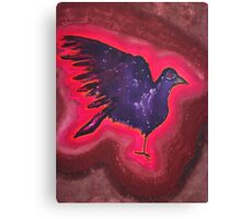 Baby Phoenix original painting Canvas Print