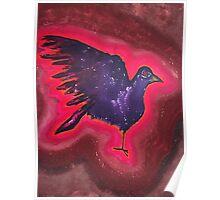 Baby Phoenix original painting Poster