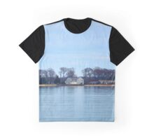 View On Shelter Island | Long Beach Point, New York Graphic T-Shirt
