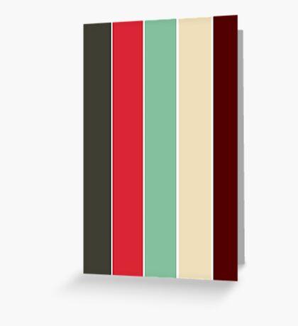 Color Scheme: Vintage Greeting Card