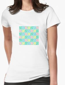 'Springtime' Textile Design Womens Fitted T-Shirt