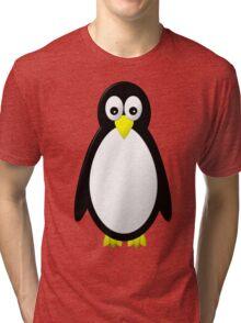 Penguin Character Tri-blend T-Shirt