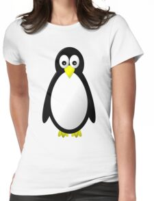 Penguin Character Womens Fitted T-Shirt