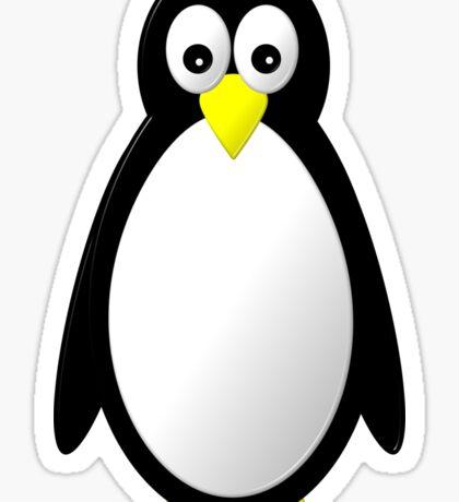 Penguin Character Sticker