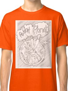Rabbit Planet Classic T-Shirt