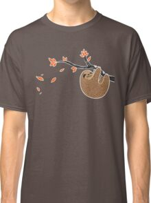 Sloth in Autumn Classic T-Shirt