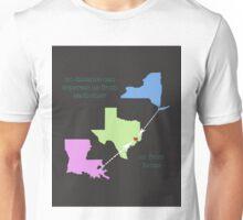 NYC TX LA Unisex T-Shirt