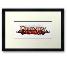 divinity original sin Framed Print