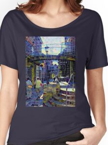 Mosaic: Market Street Women's Relaxed Fit T-Shirt