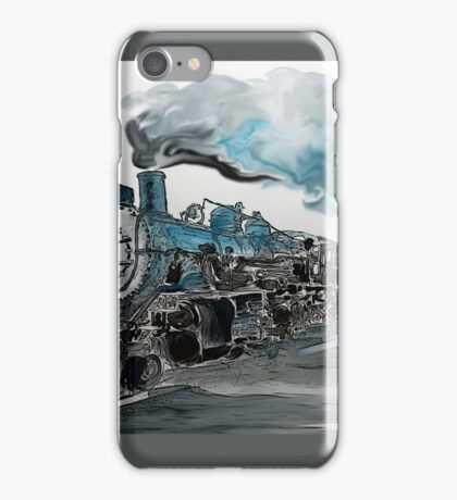 Old No 811 engine iPhone Case/Skin