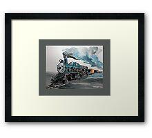 Old No 811 engine Framed Print