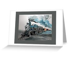 Old No 811 engine Greeting Card