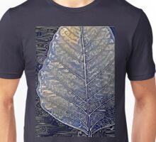 Leaf Stamp Print  Unisex T-Shirt