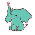 Heart Elephant by SaradaBoru