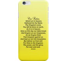 The Lord's Prayer - phone case iPhone Case/Skin