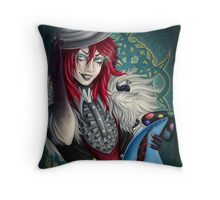 Creepypasta: Jason the Toy Maker Throw Pillow