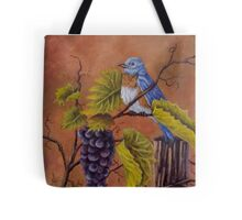 Bluey and the Grape Vine Tote Bag