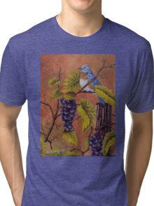 Bluey and the Grape Vine Tri-blend T-Shirt