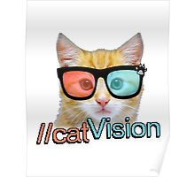 Cat Vision Poster