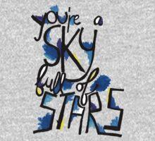 Sky Full of Stars (painted) Kids Tee