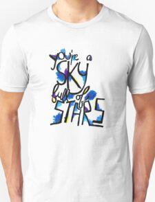 Sky Full of Stars (painted) Unisex T-Shirt
