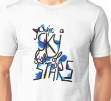 Sky Full of Stars (painted) Unisex T-Shirt